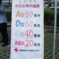 ボランティア清掃&献血ボランティア(沖縄舗装業協会)