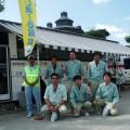 沖縄県舗装業協会主催、献血&清掃ボランティア
