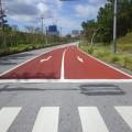 工事完成のお礼「平成29年度 宜野座地区他交通安全対策工事」