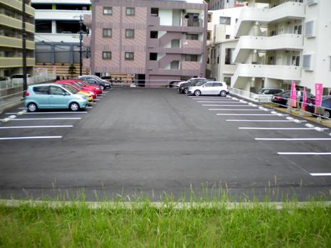 《新都心 駐車場》